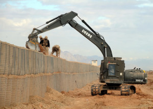 Up-armored_excavator_in_Afghanistan