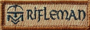 rifleman patch single